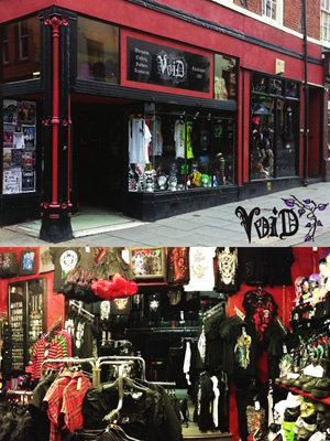 Void Clothing, Nottingham