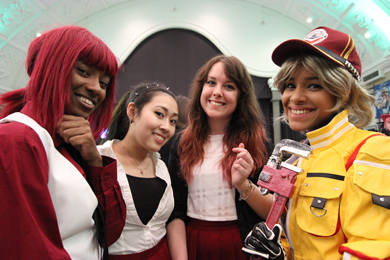 London Anime & Gaming Con : Cosplay