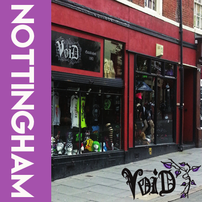 Void clothing, Nottingham : Where to shop for alternative clothing UK