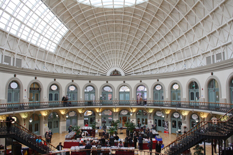 Leeds Corn Exchange inside : Re-shaping the future of fashion