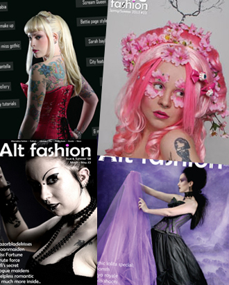 alt fashion magazine over the years