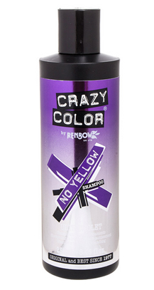Colourful hair care : Crazy Color No Yellow Shampoo