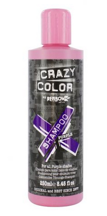 Alternative hair care products : Crazy Color Shampoo