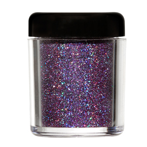 Barry M purple glitter : Alternative make up