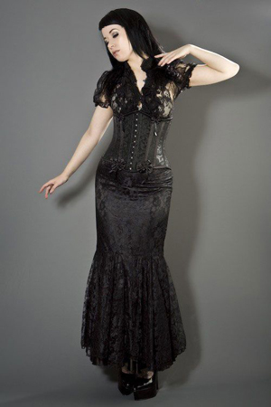 Gothic fashion corset uk
