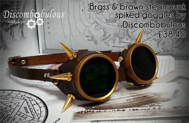 Steampunk goggles uk