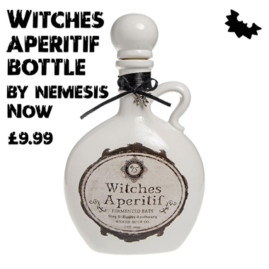 Halloween finds - Spooky decorative bottle