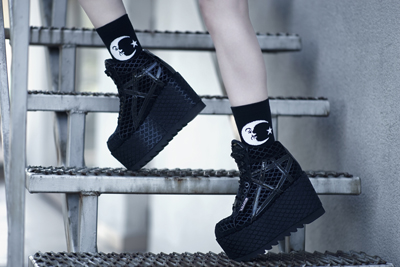 Platform shoes by Killstar