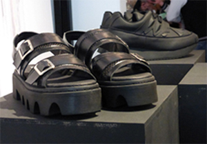 Undeground shoes at London Fashion Week