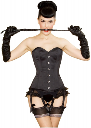 Steel boned corset uk