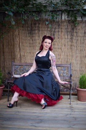 vintage styling by pinups salon, glasgow
