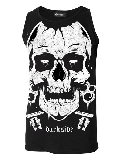Darkside t-shirt : Punk mens clothing UK