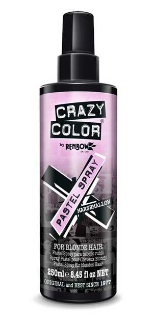 Crazy Color hair spray : Temporary hair colour