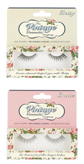 The vintage cosmetic company, false lashes