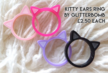 Alternative xmas gifts - Kitty rings : Alt Fashio
