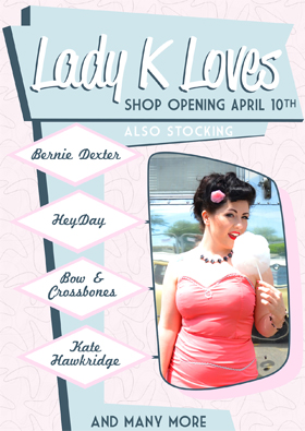 lady k loves new shop