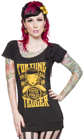 Sourpuss tunic top