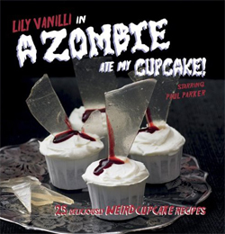 A zombie ate my cupcake book